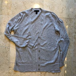 J. Crew black label cotton cardigan